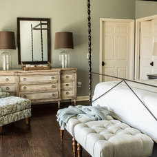 Transitional Bedroom by Margaret Donaldson Interiors
