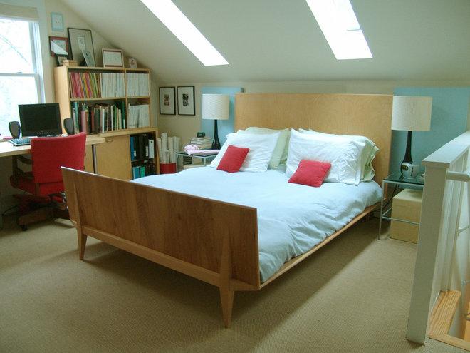 Eclectic Bedroom by Soorikian Architecture