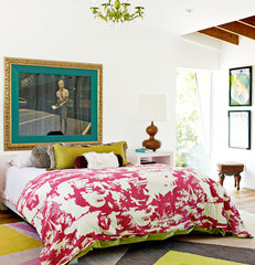 eclectic bedroom Decorate by Holly Becker and Joanna Copestick