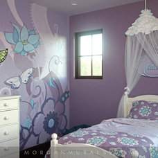 Traditional Bedroom by Murals by Morgan