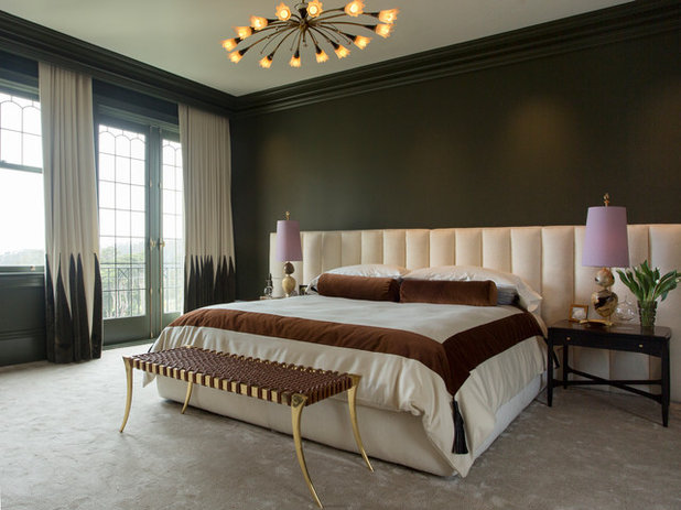 Eclectic Bedroom by Margot Hartford Photography