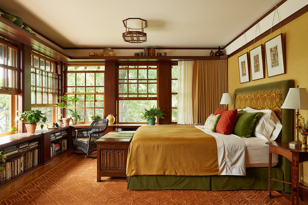 Craftsman Bedroom by David Heide Design Studio