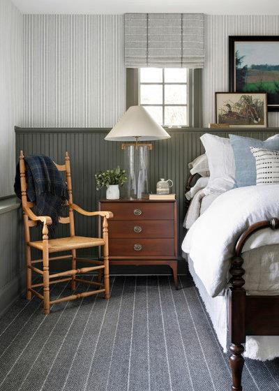 Rustic Bedroom by Bria Hammel Interiors