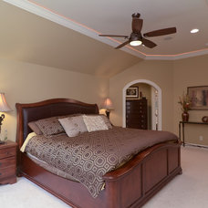 Traditional Bedroom by Redstone Builders