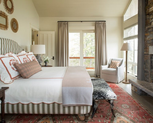 Country master bedroom design ideas renovations photos for Country master bedroom designs