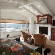 Beach Style Bedroom by Laura Kehoe Design