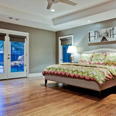 Traditional Bedroom by Nortex Custom Hardwood Floors
