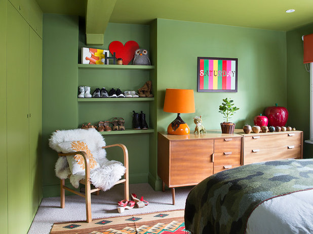 Eclectic Bedroom by David Giles Photography