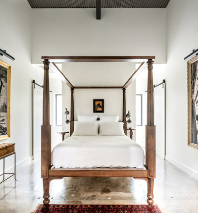 Industrial Bedroom by CONTENT Architecture