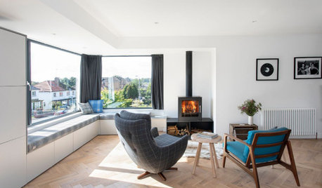 Houzz Tour: An Unusual Side Extension Reinvents a 1950s Home