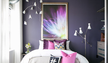 12 Small Bedrooms Go Big on Dark Colours