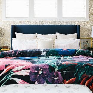 Gentil Bedroom   Transitional Bedroom Idea In Denver With White Walls