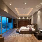 1 1 Art Collector S Pied 224 Terre Contemporary Bedroom