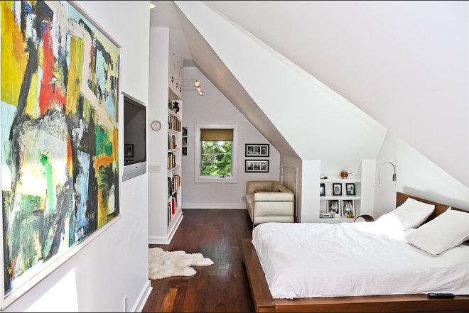 Contemporary Bedroom by Derek Moore and Sons General Contractors