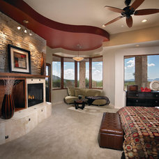 Southwestern Bedroom by Soloway Designs Inc | Architecture + Interiors