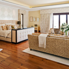 Contemporary Bedroom by Greenauer Design Group