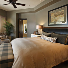 Traditional Bedroom by Linda Seeger Interior Design