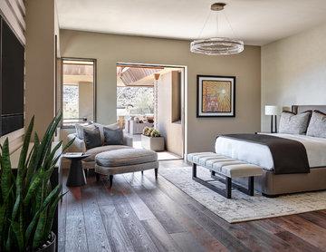 Desert Prairie / Master Bedroom + Patio