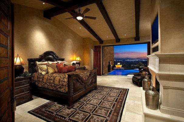 Mediterranean Bedroom by Weaver Interior Designs