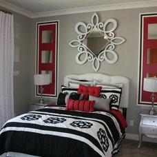Contemporary Bedroom by Design Dacoy