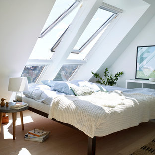 This Is An Example Of A Scandi Bedroom In Other.