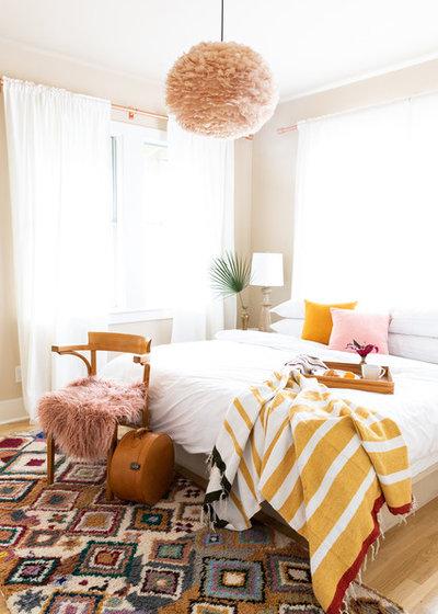 Contemporary Bedroom by nicolemlakar.com