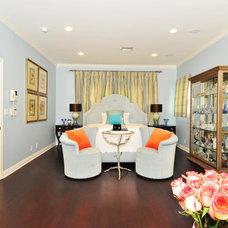 Contemporary Bedroom by Sienna Blanca Design, Inc.
