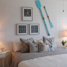 Beach Style Bedroom by Masterpiece Design Group
