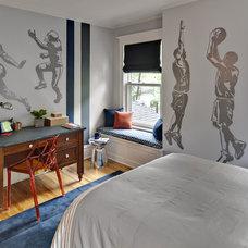 Contemporary Bedroom by Fox Interiors
