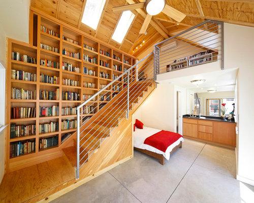 Chambre escalier en marbre : Photos et idées déco de chambres