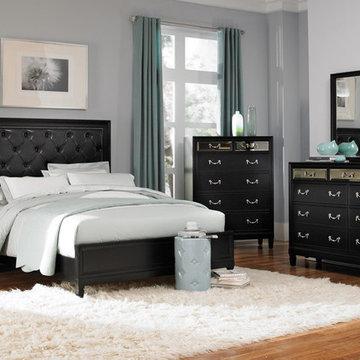 Devine Black Bedroom Set - $2481.70
