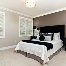 Contemporary Bedroom by Positive Space Staging + Design, Inc.