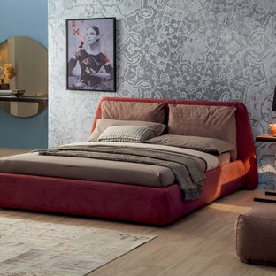 Dharma Modern Upholstered Bed by Tonin Casa