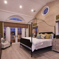 Traditional Bedroom by Brandon Architects, Inc.