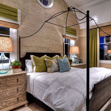 Eclectic Bedroom by Details a Design Firm