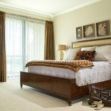 Modern Bedroom by Diane Parisian Design LLC