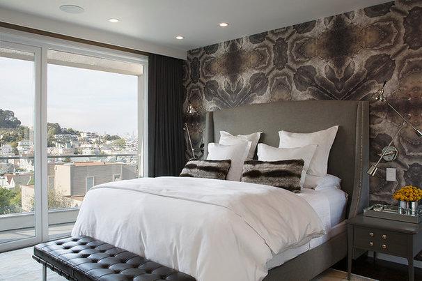 Contemporary Bedroom by Doyle McCullar