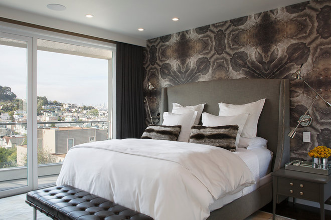 Contemporary Bedroom by Doyle McCullar
