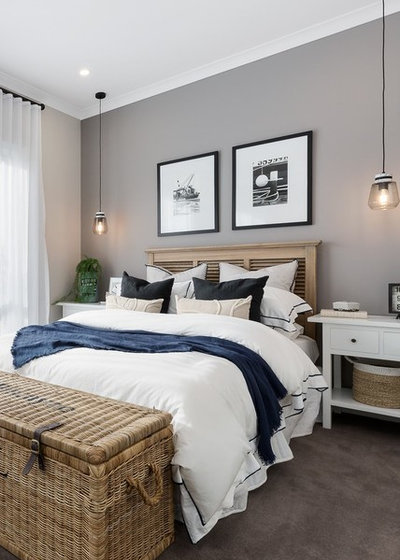 Beach Style Bedroom by Metricon