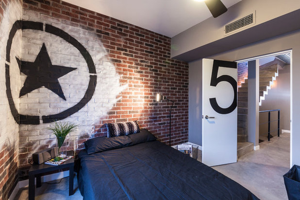 Contemporaneo Camera da Letto by CityLoft