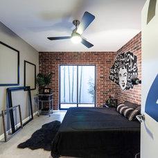 Eclectic Bedroom by CityLoft