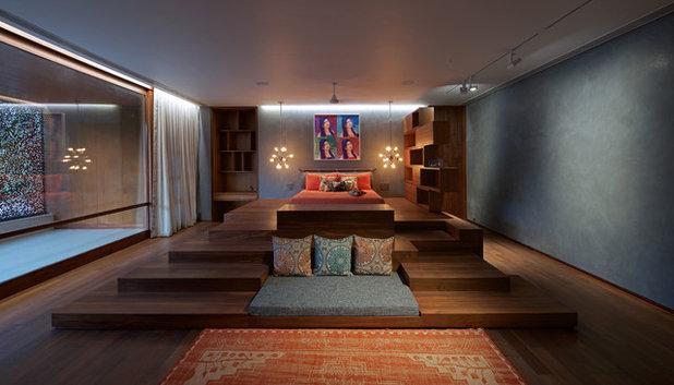 Contemporary Bedroom by SPASM