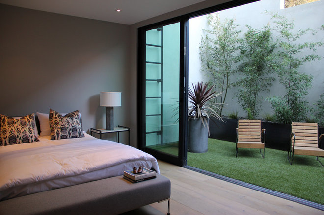 modern bedroom by Foundation Landscape Design