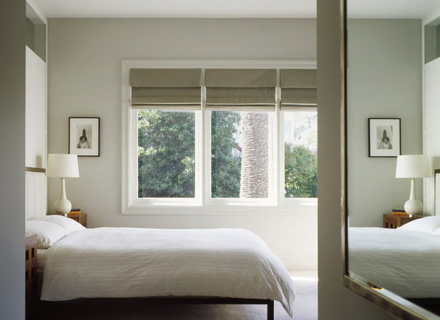 American Traditional Bedroom by Schwartz and Architecture