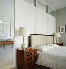 contemporary bedroom by Schwartz and Architecture