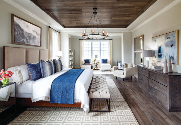 Transitional Bedroom by Toll Brothers, Inc.