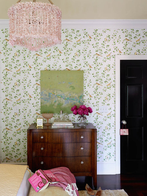 Laura Ashley Wallpaper Ideas Houzz - Laura ashley living room purple