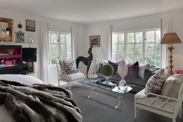Eclectic Bedroom by Donna Benedetto Designs LLC.