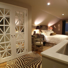 Eclectic Bedroom by Donna DuFresne Interior Design