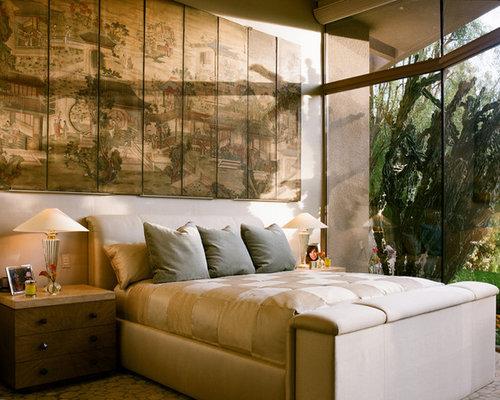asiatische schlafzimmer design-ideen & bilder   houzz, Schlafzimmer